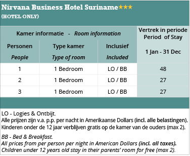 suriname-nirvana-hotel-price