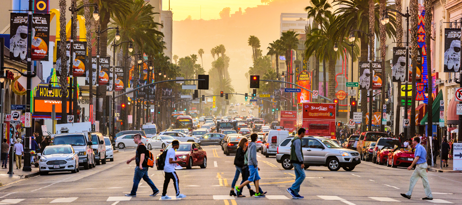 USA-LosAngeles-HollywoodBoulevard